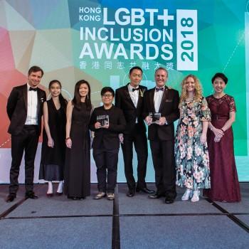 LGBT+ Community Impact Award Joint Winners
