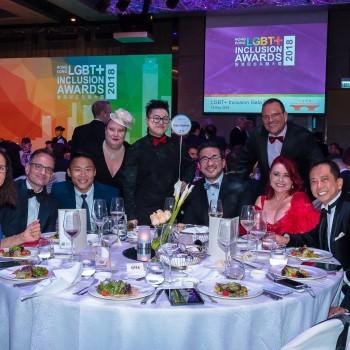 2018 Hong Kong LGBT+ Inclusion Gala Dinner